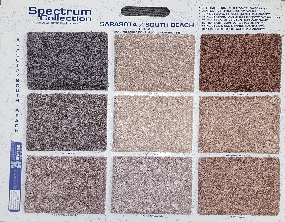 Spectrum Carpet Collection South Beach Spectrum